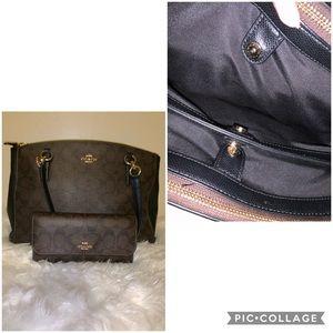Purse & matching wallet